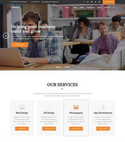 大气平面包装设计公司网站模板ht