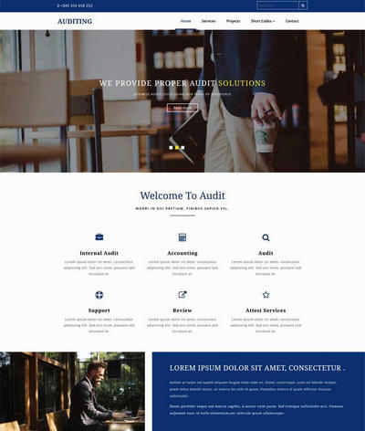 法律咨询机构html静态网站模板