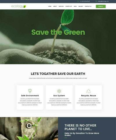大气农业生态养殖公司html网站模板下载