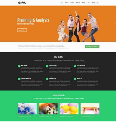 实用网络外包设计公司html全站网