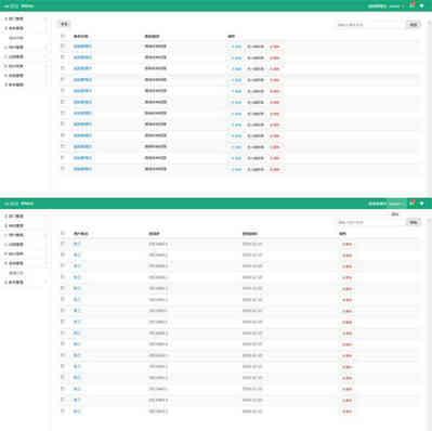 h-ui admin后台管理前端框架html模板
