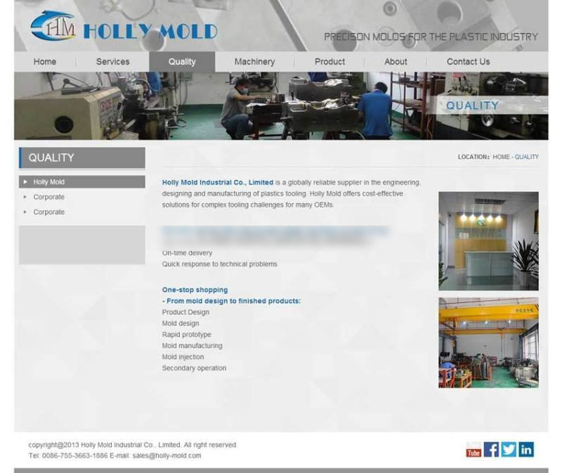 简单的外贸公司案例网站html模板源码