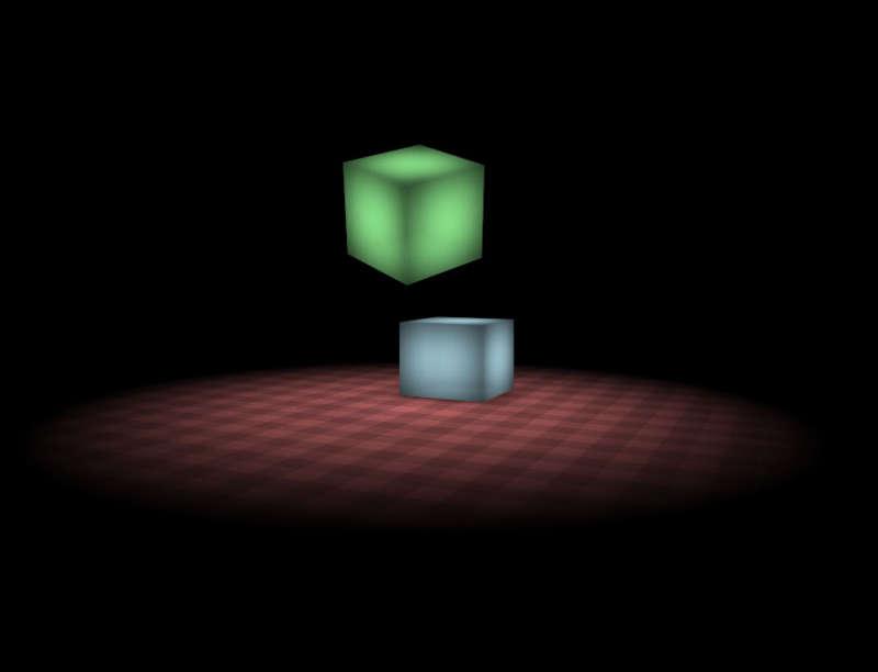 3D方块弹跳动画特效