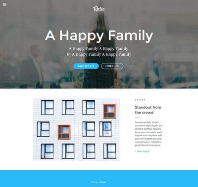 大屏摄影工作室作品网页模板下载