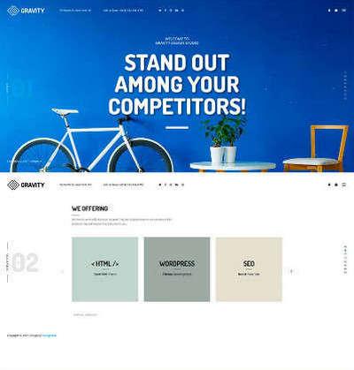 html5全屏创意广告公司网站展示
