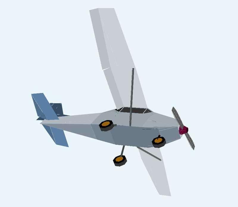 塞斯纳飞机动画特效