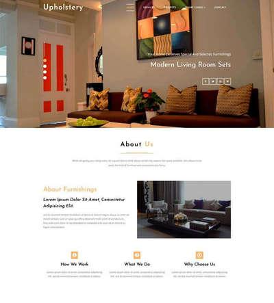 宽屏室内设计公司企业html静态模板