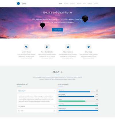 通用响应式网络外包优化公司html网站模板