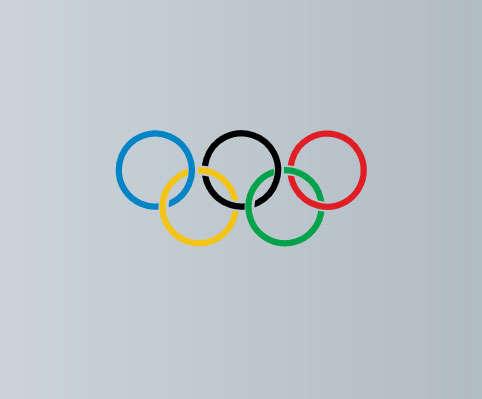 奥运五环logo动画特效