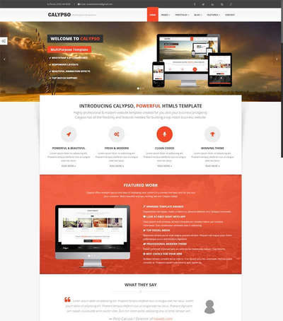 通用网页广告设计公司html5动画模板