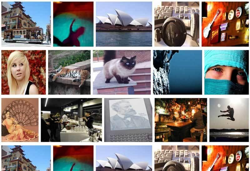 jQuery排版的图片瀑布流网格布局插件