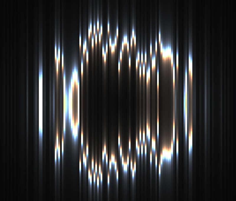 Three线条光波动画特效