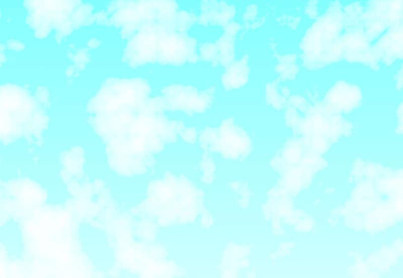 蓝天白云飘过网页动画特效