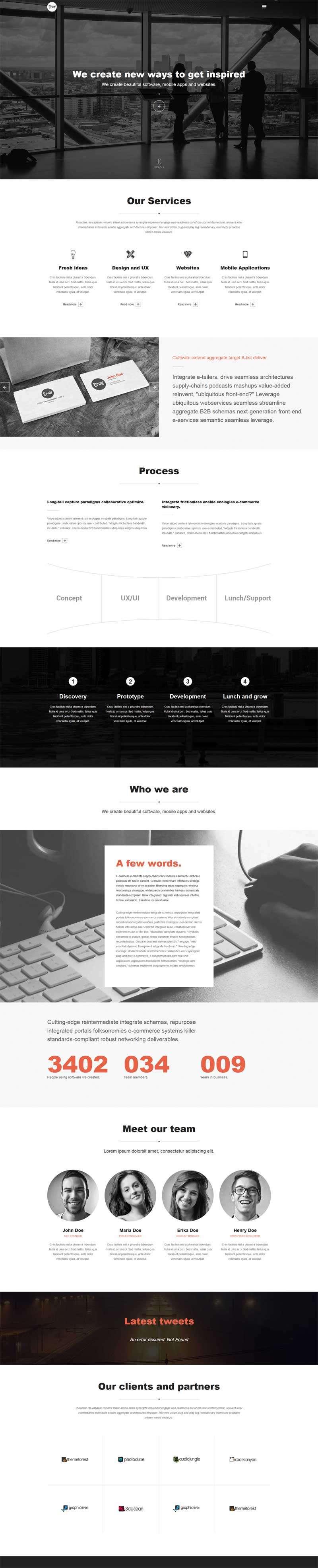 全屏大气的广告设计企业官网模板html整站