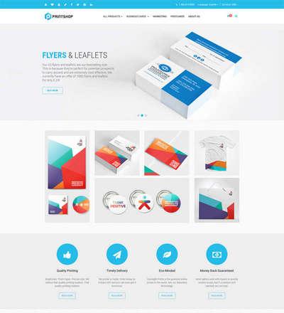 名片印刷VI设计公司网站html5模