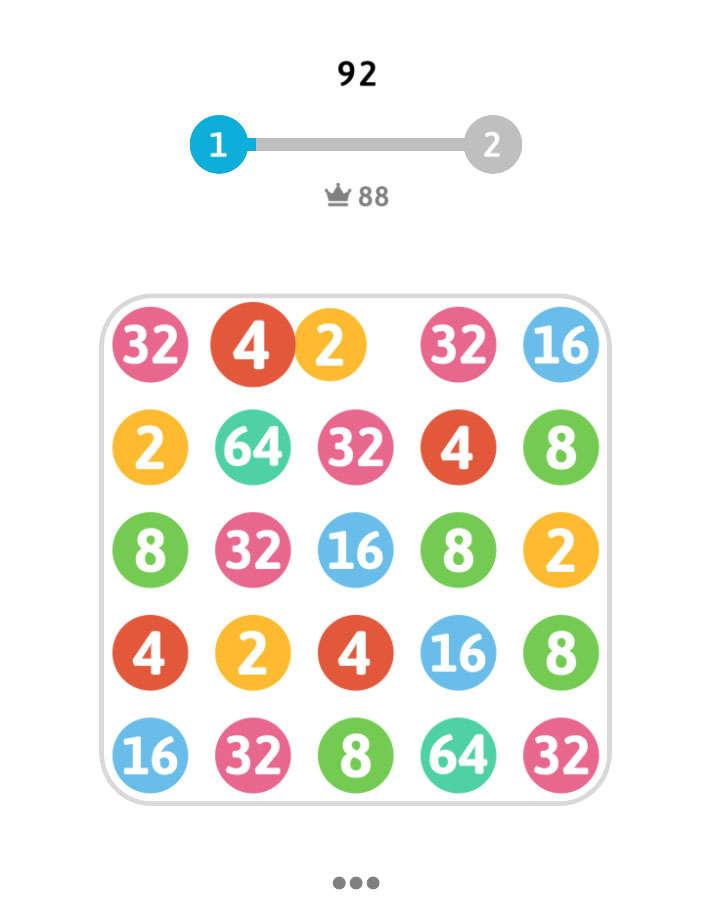 数字连接2048手机小游戏代码