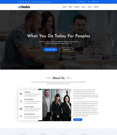 金融投资咨询企业网站bootstrap